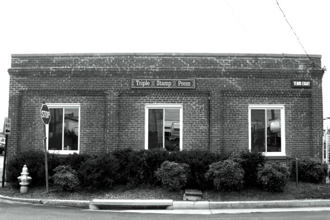 Triple Stamp Press. 200 Everett St. Richmond Virginia