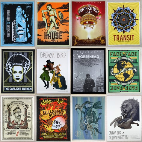 Custom Screen Printed Posters, Flyers, and Art Prints. Tons of Recycled Paper options.